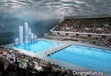 Пекинский национальный центр водных видов спорта