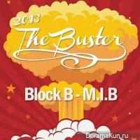 Плакат концерта Block B и M.I.B