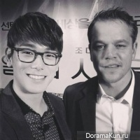 Эрик Нам встретился с Мэтт Дэймоном