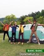 CNBlue и Kang Sora для Bang Bang Осень 2013