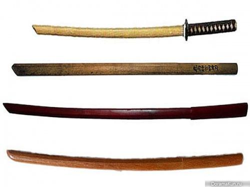 Деревянные мечи-боккэн