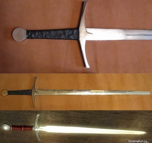 Кэн - обоюдоострый прямой японский меч