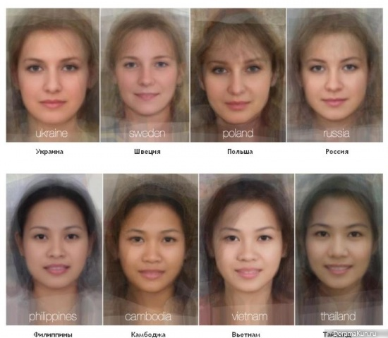 Женское лицо нации
