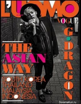 G-Dragon стал третьим корейцем, появившимся на обложке итальянского Vogue