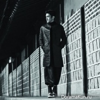 Шивон и Хёён представляют Корею для итальянского номера L'uomo Vogue