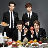 CNBlue в рекламе продуктов K-food