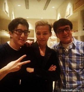 G-Dragon выступил перед 23 000 аудиторией на благотворительном концерте Джеки Чана