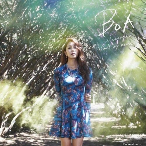 BoA выпустила японский сингла Message