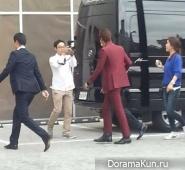 Ли Мин Хо прибыл на пресс-конференцию
