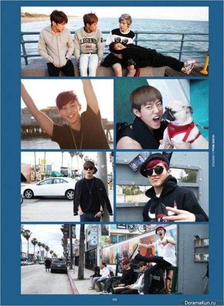 B.A.P выпустят свой первый DVD о путешествии в США