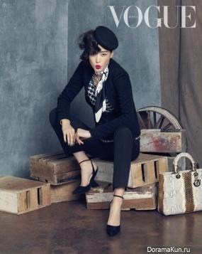 Чон Чжи Хён стала истинной 'леди Dior' для Vogue Korea