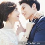 Чжи Сон и Ли Бо Ён снялись в свадебной фотосессии
