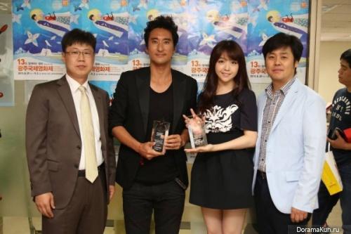 Мина из Girl's Day получила награду как Лучшая новая актриса