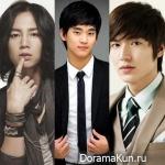 Еще одна битва между актерами: Ли Мин Хо vs Чан Гын Сок vs Ким Су Хён