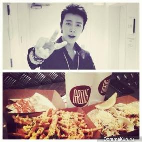 Донхэ из Super Junior открыл ресторан тако Grill 5 Taco