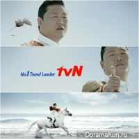 Psy стал лицом канала tvN