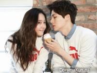 Ahn Jae Hyun и Krystal для Puma