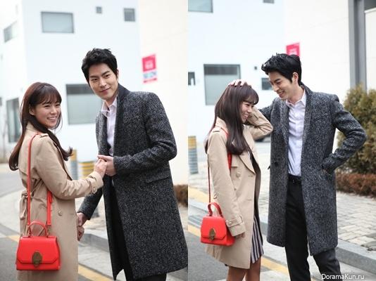 Хан Сын Ён и Хон Чжон Хён встретились на съемках постера к драме Ее милые каблуки