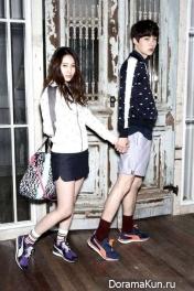 Кристал и Ан Чжэ Хён