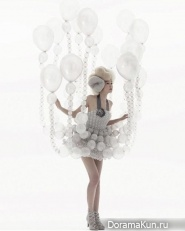 Одежда из воздушных шаров
