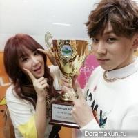 Сою и JungGiGo получили награду на Show Champion