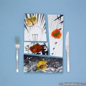 Арт-тарелки от Мики Цутай