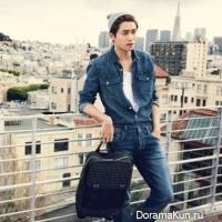 Хёншик из ZE:A в фотосессии для Cosmopolitan
