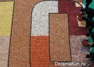 В Гонконге создана самая большая в мире мозаика из суши