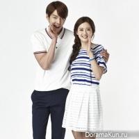 Kim Woo Bin, Go Ah Ra