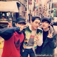 Донхэ, Ынхёк и Хёншик