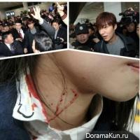 Ли Мин Хо рассказал об инциденте, произошедшем вчера в аэропорту