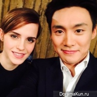 О Сан Чжин и Эмма Уотсон