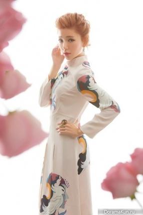 Guo Xue Fu (Puff Guo) для BELLA February 2014