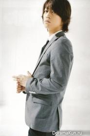 Kazuya Kamenashi для FLIX September 2009