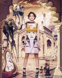 Annie Chen для HARPER'S BAZAAR February 2014