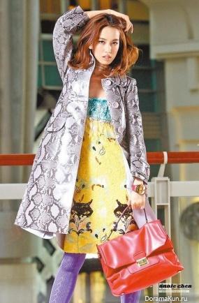 Annie Chen для Miu Miu SS collection 2014
