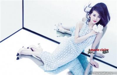 Liu Shi Shi для Marie Claire March 2014