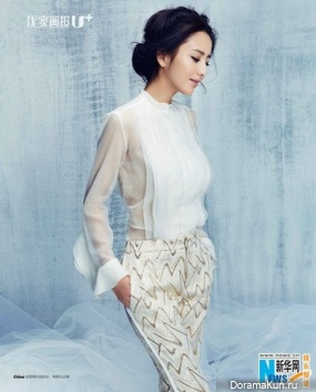 Tong Liya для Modern Lady August 2013