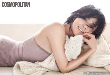 Yano Shiho для Cosmopolitan January 2015