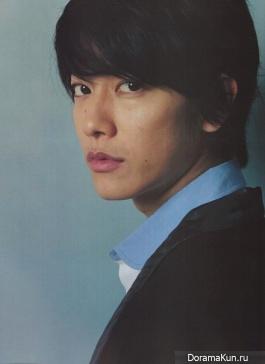 Sato Takeru для CUT May 2013