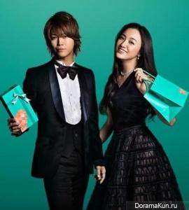 Kamenashi Kazuya и Nakama Yukie для Panasonic Beauty 2014