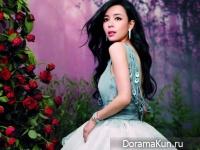 Jingchu Zhang для Cosmo Bride December 2013