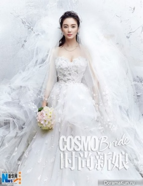 Zhang Yuqi для COSMO Bride February 2014