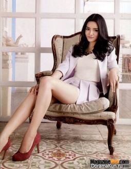 Nichari Chokprajakchat для HER WORLD January 2014