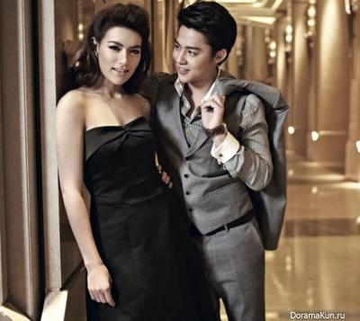 Kimberly Ann Voltemas и Mark Prin Suparat для OK October 2013