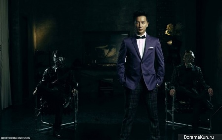 Han Geng для Men's Uno November 2013