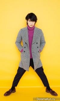 Haruma Miura для HOT PEPPER February 2014