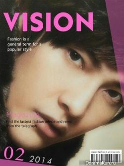 Jiro Wang для Vision February 2014