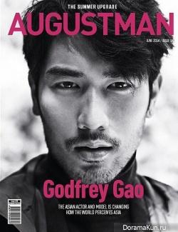Godfrey Gao для AugustMan June 2014