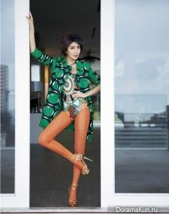 Cheryl Yang для Vogue February 2014